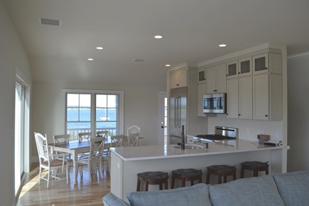 Oak Bluffs Martha's Vineyard vacation rental - Another look at the open living-kitchen area....