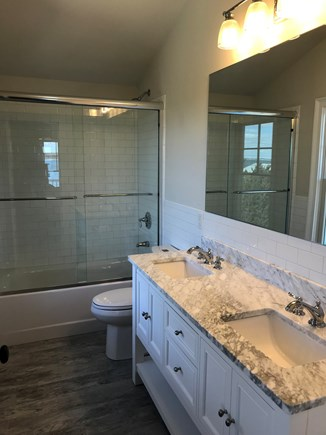 Oak Bluffs Martha's Vineyard vacation rental - Master bath complete the suite on the top floor...