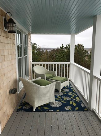 Oak Bluffs Martha's Vineyard vacation rental - Front porch has comfortable furnishings for relaxing and eating!