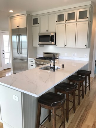 Oak Bluffs Martha's Vineyard vacation rental - Upscale kitchen with room for all. Waterviews from every angle!