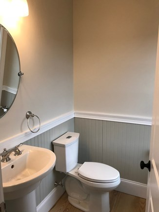 Oak Bluffs Martha's Vineyard vacation rental - Upstairs half bath (outdoor shower, too)