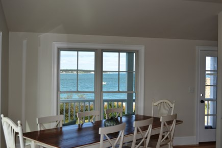 Oak Bluffs Martha's Vineyard vacation rental - Eat-in kitchen with a breathtaking view!