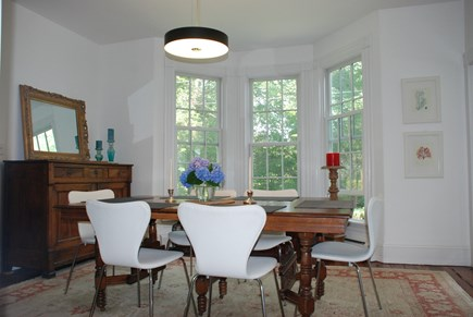 Edgartown Martha's Vineyard vacation rental - Dining room view from living room
