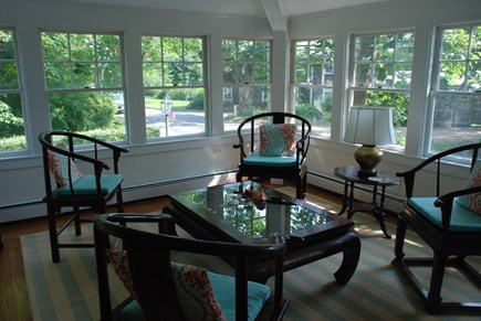 Edgartown Martha's Vineyard vacation rental - Sun room of dining room