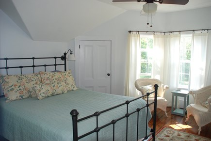Edgartown Martha's Vineyard vacation rental - Upstairs bedroom #3 - 1 Queen bed