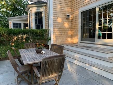 Edgartown Martha's Vineyard vacation rental - Back deck of kitchen