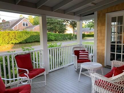 Edgartown Martha's Vineyard vacation rental - Patio to Mullen Way