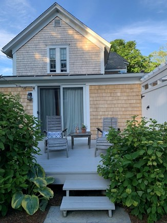 Edgartown Martha's Vineyard vacation rental - Back porch