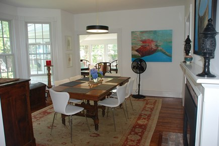 Edgartown Martha's Vineyard vacation rental - Dining room view from Kitchen