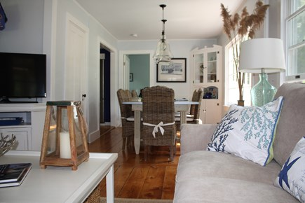 Oak Bluffs, East Chop  Martha's Vineyard vacation rental - Living room/Dining room, seats 8+