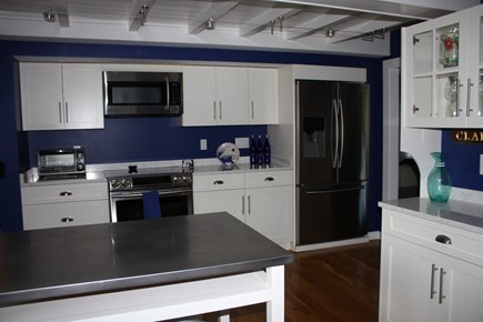 Oak Bluffs, East Chop  Martha's Vineyard vacation rental - Kitchen with all new stainless appliances