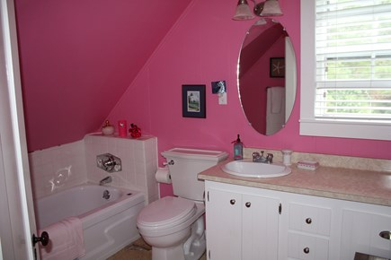 Oak Bluffs, East Chop  Martha's Vineyard vacation rental - Upstairs bathroom