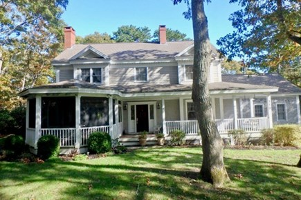 Vineyard Haven Martha's Vineyard vacation rental - Gorgeous updated colonial with large landscaped yard in West Chop