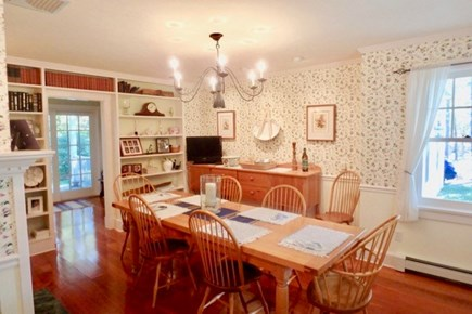 Vineyard Haven Martha's Vineyard vacation rental - Traditional and tranquil dining area to enjoy meals