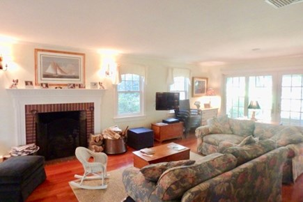 Vineyard Haven Martha's Vineyard vacation rental - Comfortable great room offers access to the front porch.