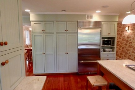 Vineyard Haven Martha's Vineyard vacation rental - Beautiful cabinetry and large new appliances inspire cooking.