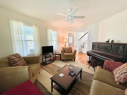 Oak Bluffs Martha's Vineyard vacation rental - One of Two Living Areas with Television