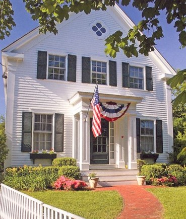 Edgartown Martha's Vineyard vacation rental - Situated in Edgartown's Historic District.