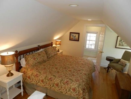 Edgartown Martha's Vineyard vacation rental - 3rd Floor large master bedroom with en suite bathroom.