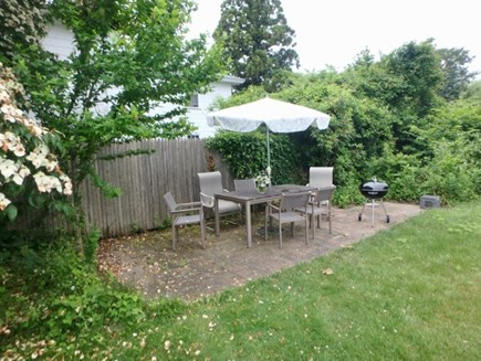 Edgartown Martha's Vineyard vacation rental - Nice outdoor drinking and dining area.