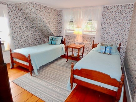 Edgartown Martha's Vineyard vacation rental - Twins upstairs make a great room for kids.
