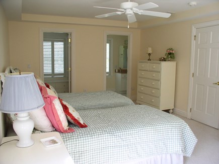 Harthaven Oak Bluffs Martha's Vineyard vacation rental - Same BR, shows doors to the private full BA and walk-in closet