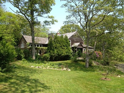Lambert's Cove, West Tisbury Martha's Vineyard vacation rental - Main house and lawn