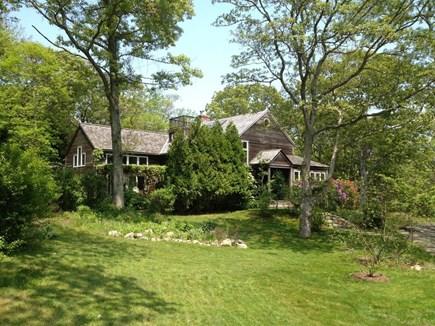 West Tisbury Martha's Vineyard vacation rental - Main house and lawn