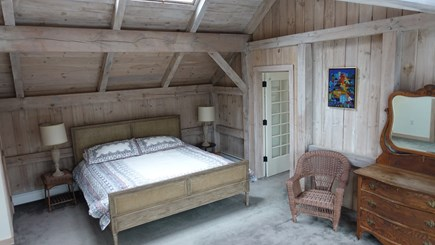 West Tisbury Martha's Vineyard vacation rental - Master bedroom with king size bed