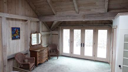 West Tisbury Martha's Vineyard vacation rental - Master bedroom with French doors to balcony