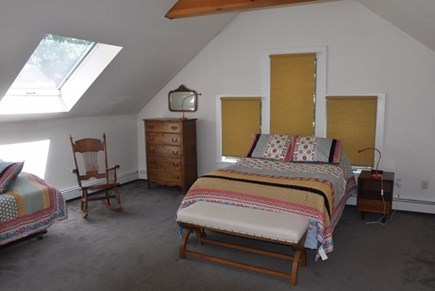 Lambert's Cove, West Tisbury Martha's Vineyard vacation rental - 2nd upstairs bedroom with one full and 2 twin beds