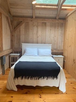 Lambert's Cove, West Tisbury Martha's Vineyard vacation rental - Guest cottage bedroom