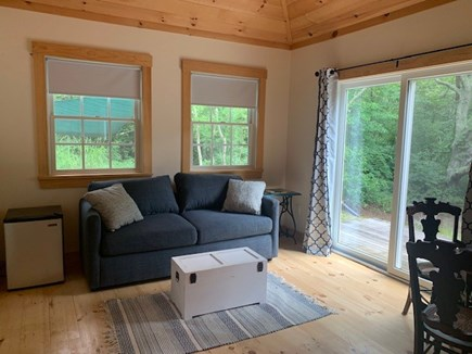 Lambert's Cove, West Tisbury Martha's Vineyard vacation rental - Guest cottage sitting area