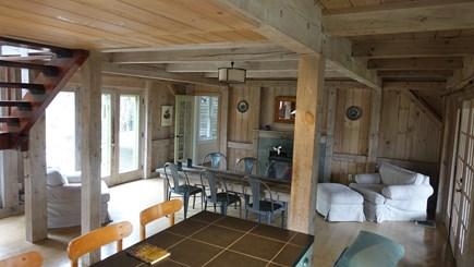 Lambert's Cove, West Tisbury Martha's Vineyard vacation rental - Open kitchen/dining room