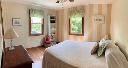 Oak Bluffs Martha's Vineyard vacation rental - Bedroom—Downstairs, Queen size bed, Closet