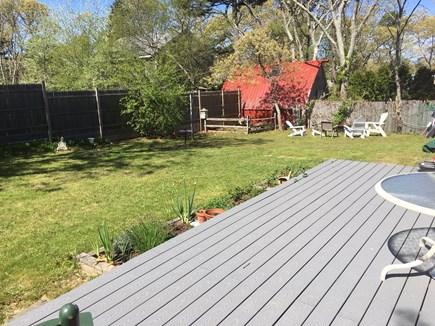 Oak Bluffs Martha's Vineyard vacation rental - Backyard #2