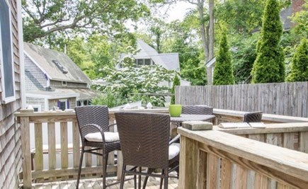 Oak Bluffs Martha's Vineyard vacation rental - Plenty of greenery to enjoy during a meal outdoors.