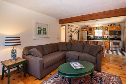 Vineyard Haven Martha's Vineyard vacation rental - TV / Media Room Opens to Kitchen and Sitting Room