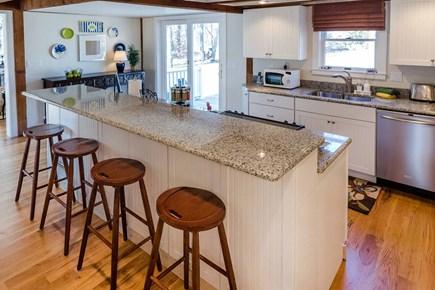 Katama - Edgartown Martha's Vineyard vacation rental - Gourmet Kitchen Features Prep Island/Breakfast Bar, Granite Count