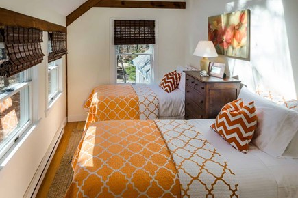 Katama - Edgartown Martha's Vineyard vacation rental - Bedroom 4 Has Two Twin Beds, Vaulted Ceiling, Skylight