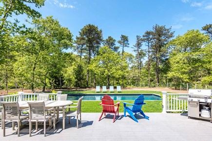 Katama - Edgartown Martha's Vineyard vacation rental - Outdoor Entertaining Spaces Include Mahogany Deck
