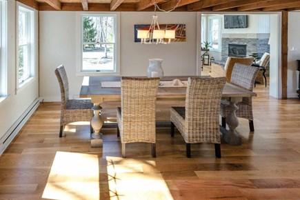 Katama - Edgartown Martha's Vineyard vacation rental - Dining Area Sits Between Living Room