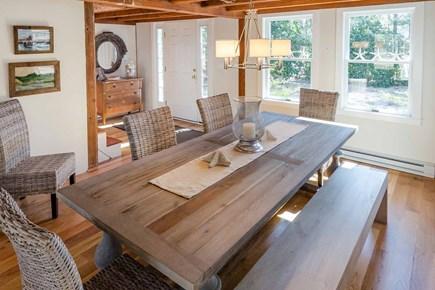 Katama - Edgartown Martha's Vineyard vacation rental - Sunny Dining Area Has Beamed Ceiling