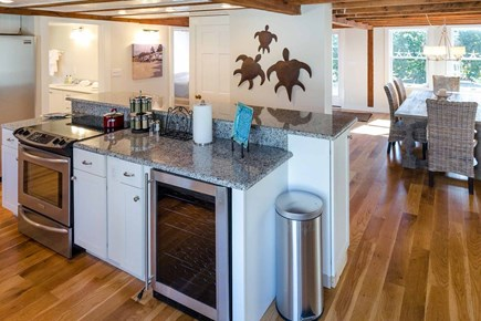 Katama - Edgartown Martha's Vineyard vacation rental - Kitchen Opens To Dining Area For Easy Vacation Entertaining