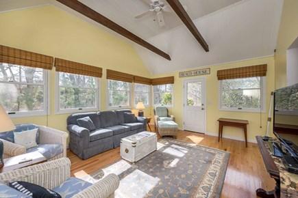 Edgartown Martha's Vineyard vacation rental - Sun Room Has Media Center & Lounge Seating