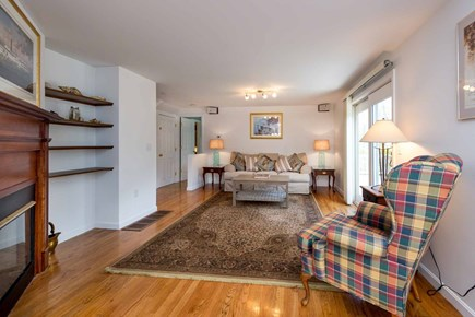 Edgartown Martha's Vineyard vacation rental - Open Living & Dining Areas, Have Fireplace, Sliding Doors To Back