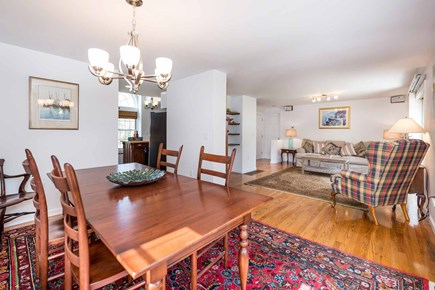 Edgartown Martha's Vineyard vacation rental - Dining Area Opens To Living Area & Kitchen For Easy Entertaining