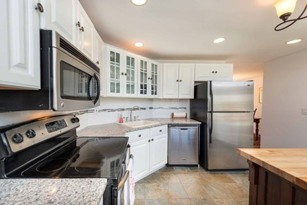 Edgartown Martha's Vineyard vacation rental - The New Kitchen Has Granite Counters, Center Butcher Block Prep I