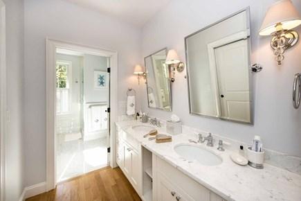 Katama - Edgartown Martha's Vineyard vacation rental - Deluxe Master Bath Has Double Vanity