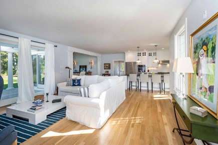 Katama - Edgartown Martha's Vineyard vacation rental - View From Living Area To Gourmet Kitchen